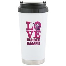 Love Hunger Games Ceramic Travel Mug