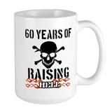 60 years of raising hell Mug