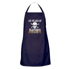65 years of raising hell Apron (dark)