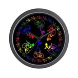 Bicycle Time Wall Clock