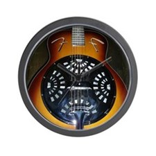 Funny Stringed instruments Wall Clock
