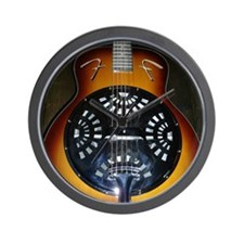 Cute Stringed instruments Wall Clock
