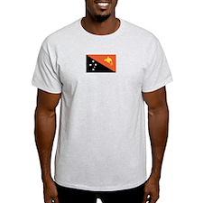 Papua New Guinea Ash Grey T-Shirt