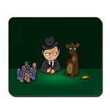 Poker Monkey Mousepad