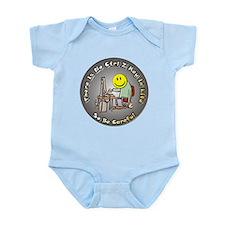No Ctrl Z Key Infant Bodysuit