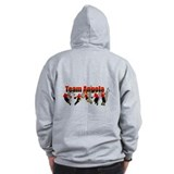Angola Basketball Zip Hoodie