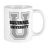 Squirrel UNIVERSITY Coffee Mug