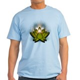 "Green ""Heart"" Chakra Lotus T-Shirt"