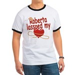 Roberta Lassoed My Heart Ringer T