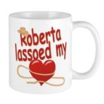 Roberta Lassoed My Heart Mug