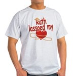Ruth Lassoed My Heart Light T-Shirt