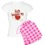 Ruth Lassoed My Heart Women's Light Pajamas