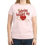 Sabrina Lassoed My Heart Women's Light T-Shirt
