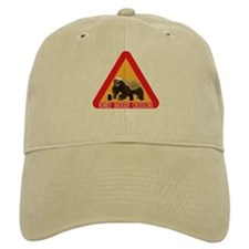 Honey Badger Crossing Sign Baseball Cap