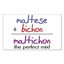 Maltichon PERFECT MIX Decal
