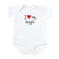 I LOVE MY Boggle Infant Bodysuit