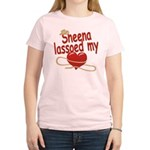 Sheena Lassoed My Heart Women's Light T-Shirt
