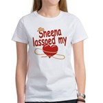 Sheena Lassoed My Heart Women's T-Shirt