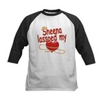 Sheena Lassoed My Heart Kids Baseball Jersey
