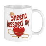 Sheena Lassoed My Heart Mug