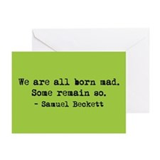 Beckett (blank) Greeting Cards (Pk of 20)