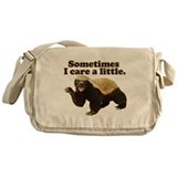 Honey Badger Does Care! Messenger Bag