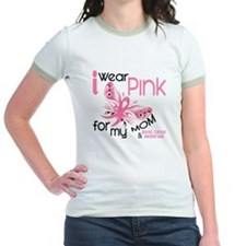 I Wear Pink 45 Breast Cancer T