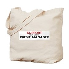 Support:  CREDIT MANAGER Tote Bag