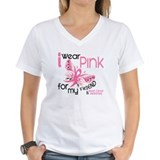 I Wear Pink 45 Breast Cancer Shirt