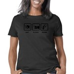 District 9 Tribute Organic Men's Fitted Dark T-Shi