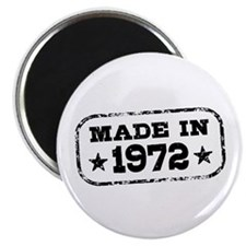 Made In 1972 Magnet