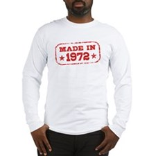 Made In 1972 Long Sleeve T-Shirt
