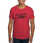 Made In 1962 Dark T-Shirt