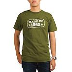 Made In 1962 Organic Men's T-Shirt (dark)