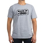Made In 1962 Men's Fitted T-Shirt (dark)