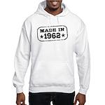 Made In 1962 Hooded Sweatshirt