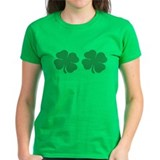 Shamrock Boobs Tee