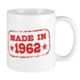 Made In 1962 Small Mug