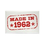 Made In 1962 Rectangle Magnet