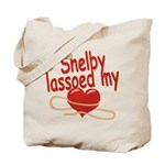 Shelby Lassoed My Heart Tote Bag