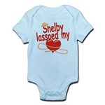 Shelby Lassoed My Heart Infant Bodysuit