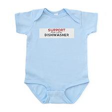 Support:  DISHWASHER Infant Creeper