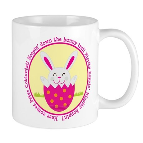 Peter Cottontail Girl Easter Mug