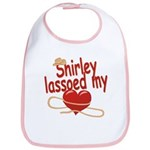 Shirley Lassoed My Heart Bib