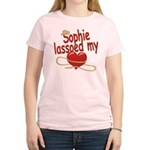 Sophie Lassoed My Heart Women's Light T-Shirt