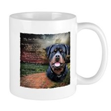 """Why God Made Dogs"" Rottweiler Coffee Mug"