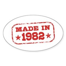 Made In 1982 Decal