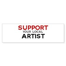 Support: ARTIST Bumper Bumper Sticker