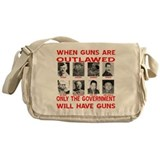When Guns Are Outlawed Messenger Bag