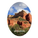 Holiday Boynton Canyon Ornament (Oval)